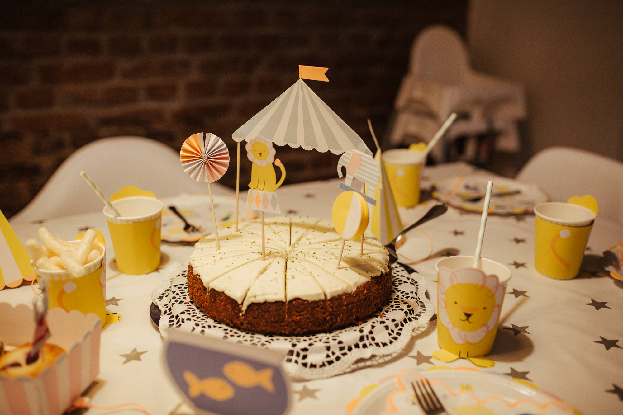 Kuchen beim Kindergeburtstag